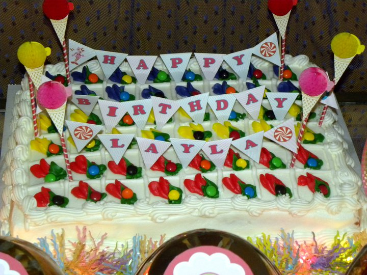 Yummy, yummy, Candy Cake