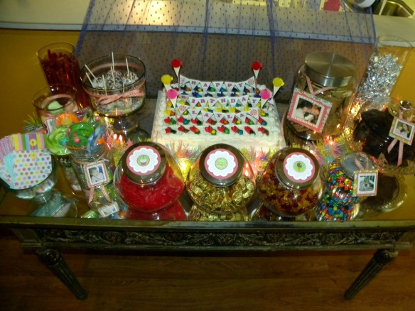 Vintage Sweets Shoppe Party by Pastiche Events