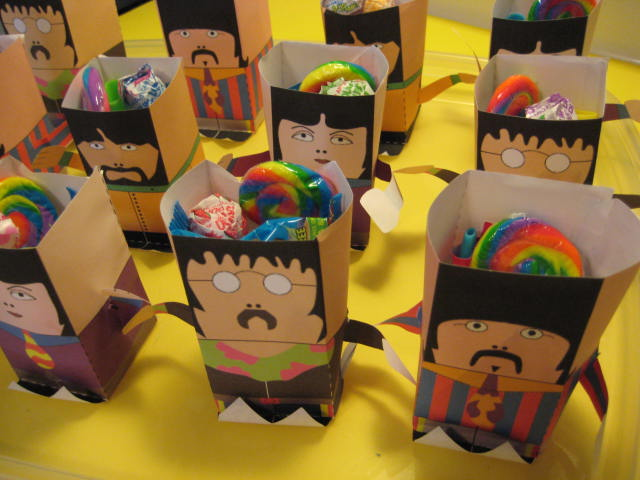 Yellow Submarine Party by Pastiche Events