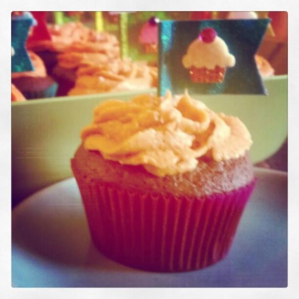 Salted Caramel Buttercream Cupcakes