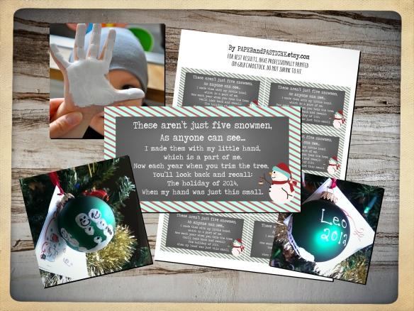 Snowman Poem 2014 by PAPERandPASTICHE.etsy