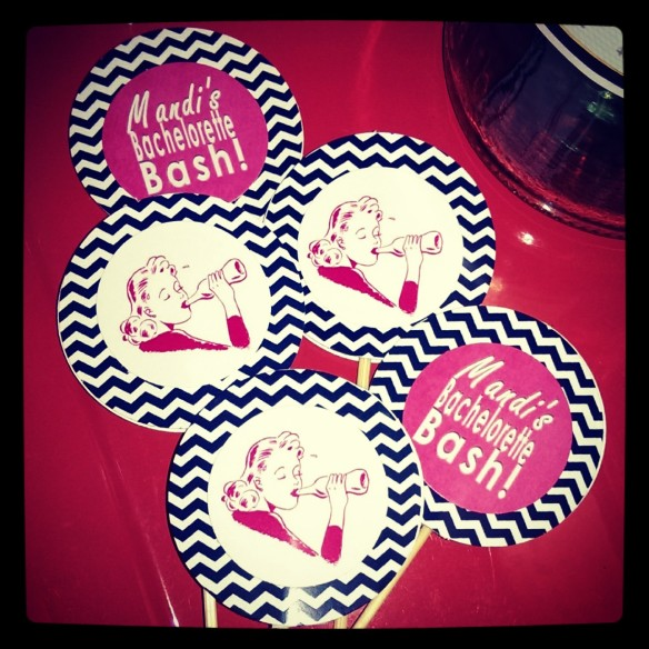 Hey Sailor Cupcake Toppers