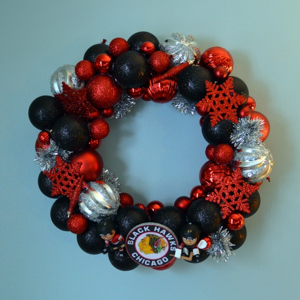 Chicago Blackhawks Wreath