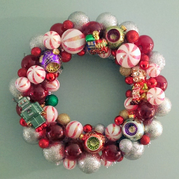 Custom Made Wreaths Made in Chicago | Vintage Toys and Candy