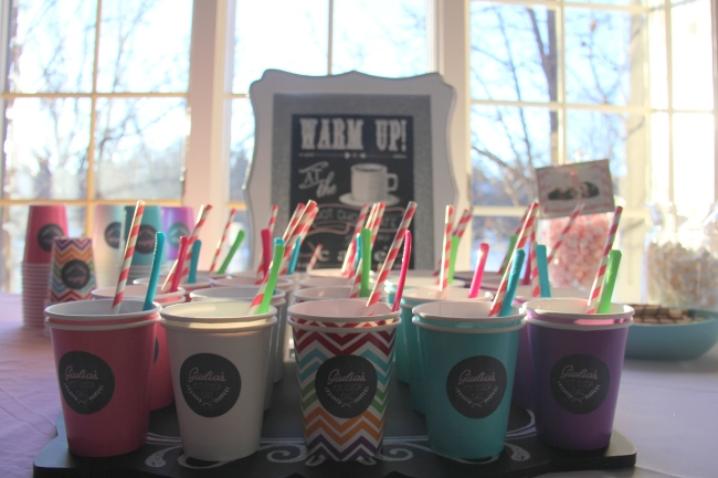 Hot Cocoa Bar | Winter Onederland Birthday Party by Pastiche Events