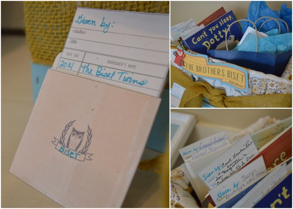 Book Crate | Forest Friends Baby Shower by Pastiche Events, Chicago.