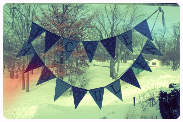 Pennant Flag Banner by Pastiche Events