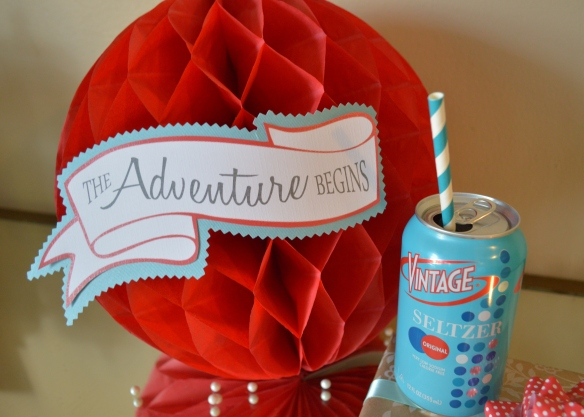 The Adventure Begins Collection from PAPERandPASTICHE { available on Etsy }