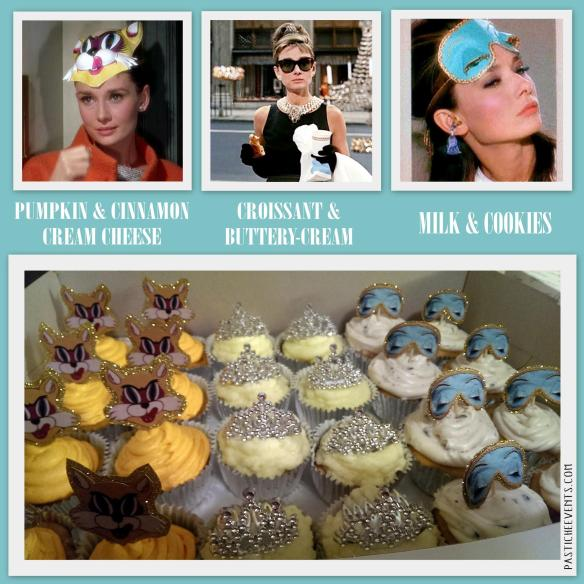 Breakfast at Tiffany's Cupcakes by Pastiche Events
