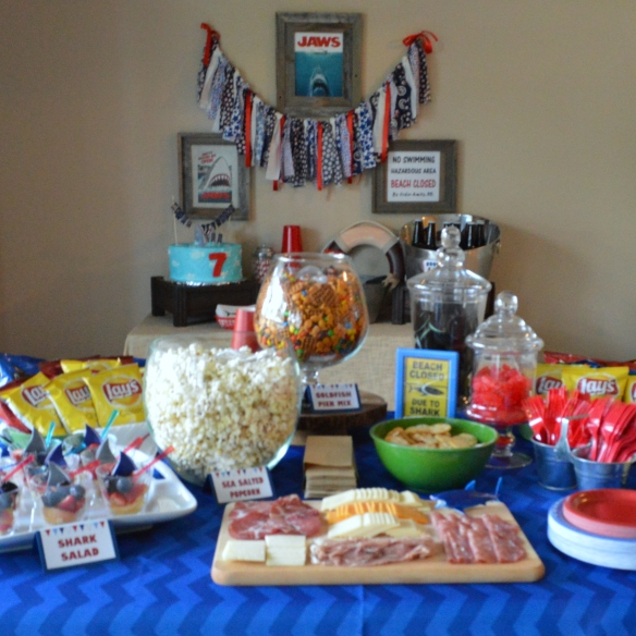 Jaws Birthday Party by Pastiche Events