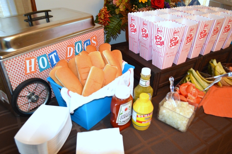 Vintage Fall Baseball Baby Shower by Pastiche Events | Chicago Style Dogs