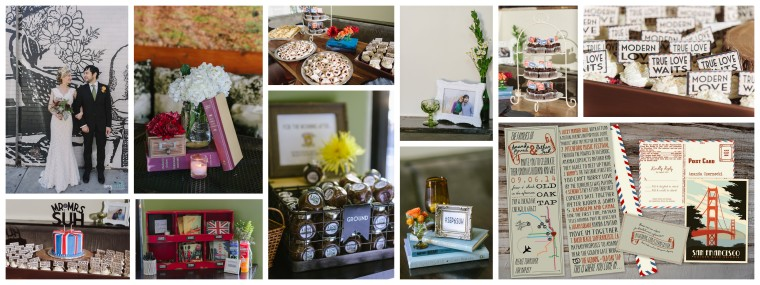 Nathan and Amanda's Chicago Wedding - Vintage Eclectic Brit Pop Travel Old Oak Tap - Pastiche Events